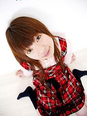 Smiley girl from Japan Saki Konno