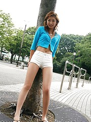 Sexy Nao is a model who likes to flaunt herself