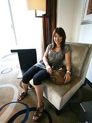 Slutty Asian Yuzuka enjoys showing off her excellent body