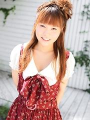 Cute japan girl Junko Kunieda stripping