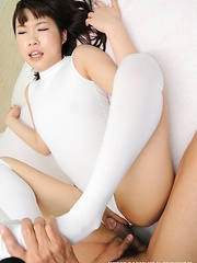 Japanese girl Miku Aono gets fucked