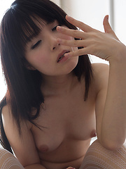 Pretty small-titted japanese girl Sakura Sena