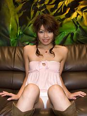 Arisa Aoyama pussy playing