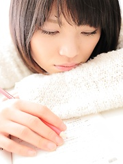Asian girl Mayuka Kobayashi