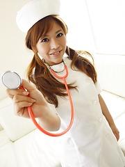 Sexy japanese nurse Aoi