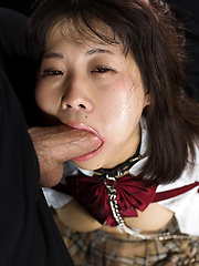 Kitahara Chiaki takes it deep