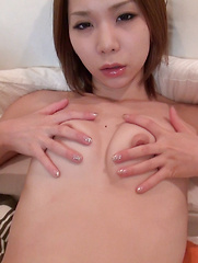 Our Director has a fetish for Japanese girls wearing white cotton panties. Popping or tearing tight holes through the material gets girls very excited.