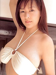 Erina Yamaguchi posing in different outfits
