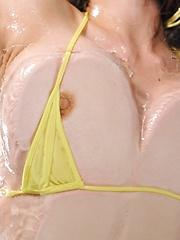 Oiled up body gets some action!