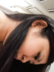 Yuuki Motomiya Asian has big boobs sucked and gives fine blowjob