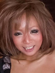 Riku Hinano Asian with firm boobs has coochie fucked with fingers