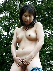 Emiri Takeuchi Asian in stockings has cans and pussy fondled