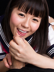 Araki Mai sucking cock