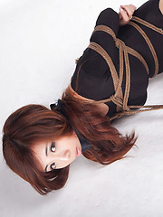 Any Asian with perfect curves is tied in ropes and can´t scream