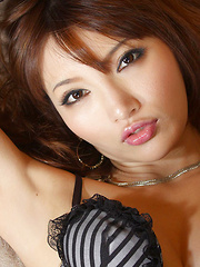Chie Yamauchi Asian is naughty and appetizing in photo session
