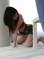 Lovely Rika Sonohara teases with her body and gets nailed