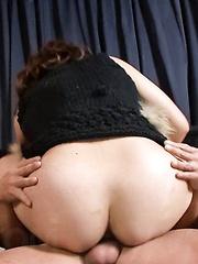 Kurara Iijima Asian has pussy fingered and rubbed before fucking