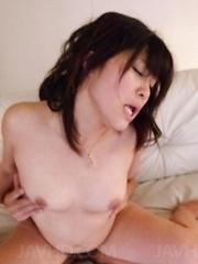 Kyouka Mizusawa Asian has nooky fingered and rides shlong with it