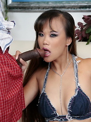 Hot Mia is doing a black cock and she loves it...