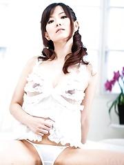 Manami Komukai Asian has nipples licked and vagina fucked a lot