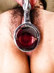 Mai Asahina Asian has red pussy aroused till she has a squirt