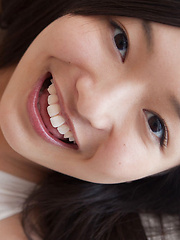 Mayumi Yamanaka Asian with big hooters smiles and is very playful