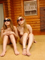 Hot Japanese babes ride on two hard wieners