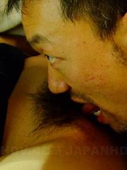 Nasty babe Rui Natsukawa gets nailed in car