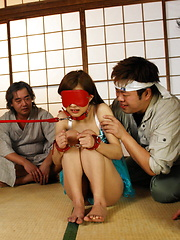 Hot Suzuka Ishikawa gets in group bondage sex