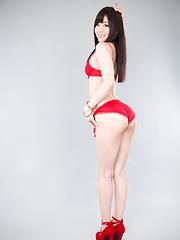 Aoi Shino footjob