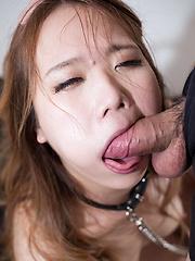 Matsumoto Rena deepthroat face fuck