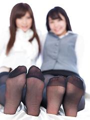 Yurikawa Sara and Kasugano Yui