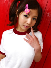 Super hot Asian teen darling Hikaru Aoyama
