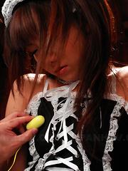 Mahiru Tsubaki gets her lovely vagina teased