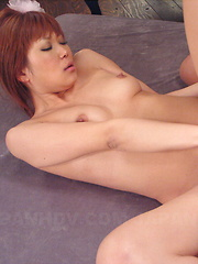 Hot darling Yuno Hoshi gets fucked so hard