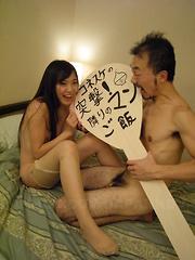 Asian gal Shiho Miyasaki gets fucked so hard