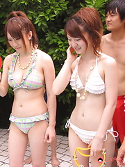 These Japanese girls want some rough fucking