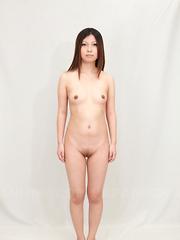 Yuki Kawamoto gets her hairy cunt shaved