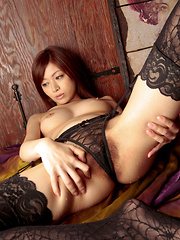 Runa Itou Asian loves taking clothes off and exposing hot body
